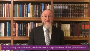 Message from Chief Rabbi Ephraim Mirvis