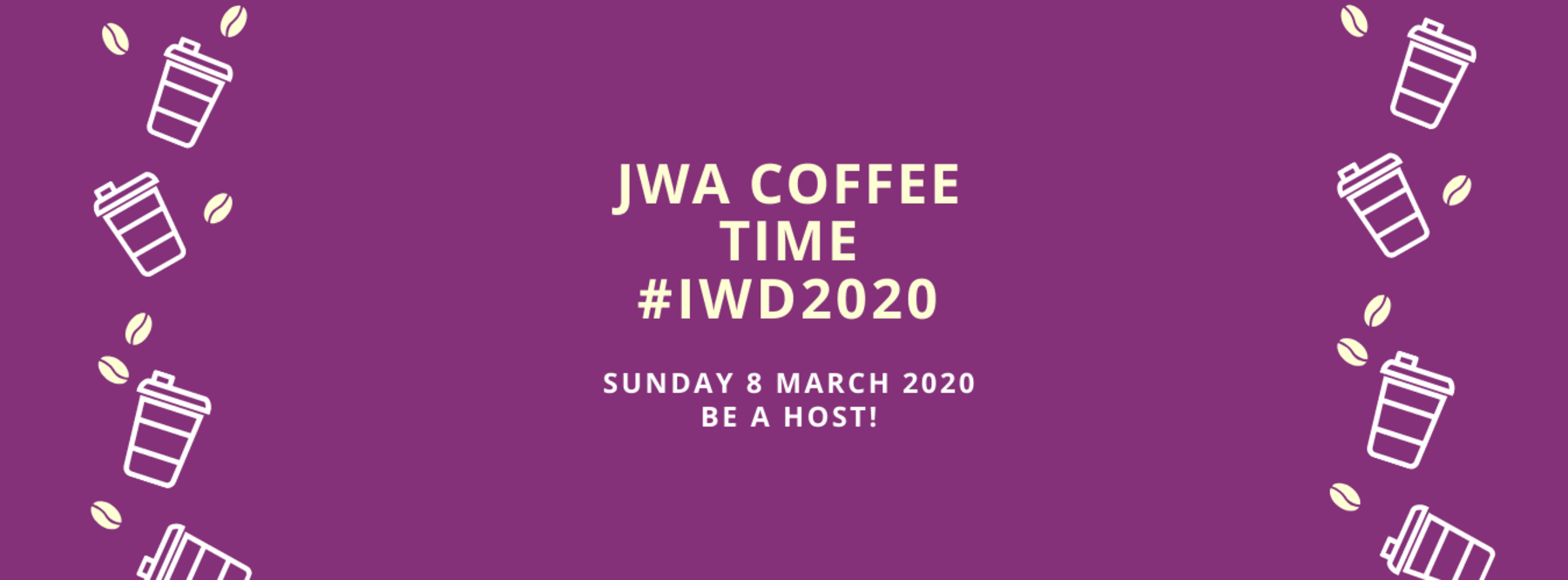 JWA Coffee Time for International Women's Day