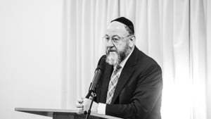 Message from our patron Chief Rabbi Ephraim Mirvis