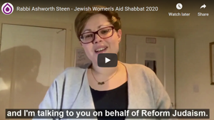 Message from Reform Judaism: Rabbi Robyn Ashworth-Steen